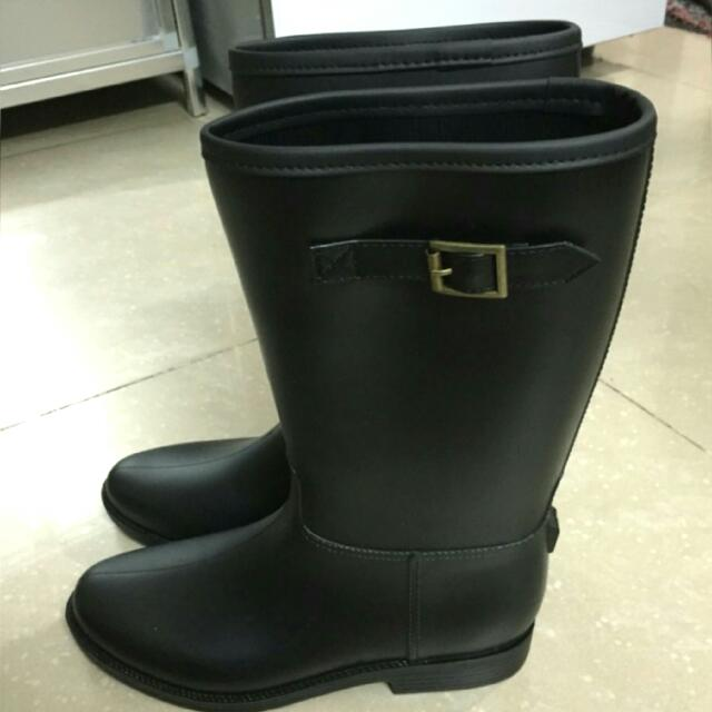 限時含運!!!!👉完美款騎士中長筒雨靴✨38/39號