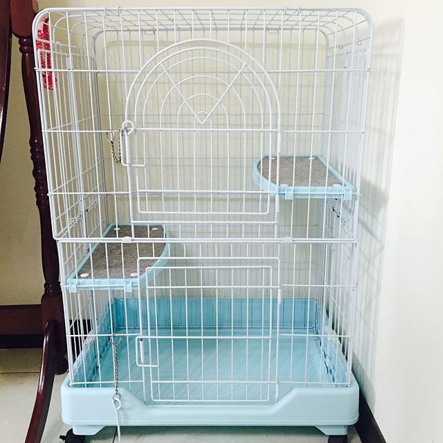 近全新貓籠