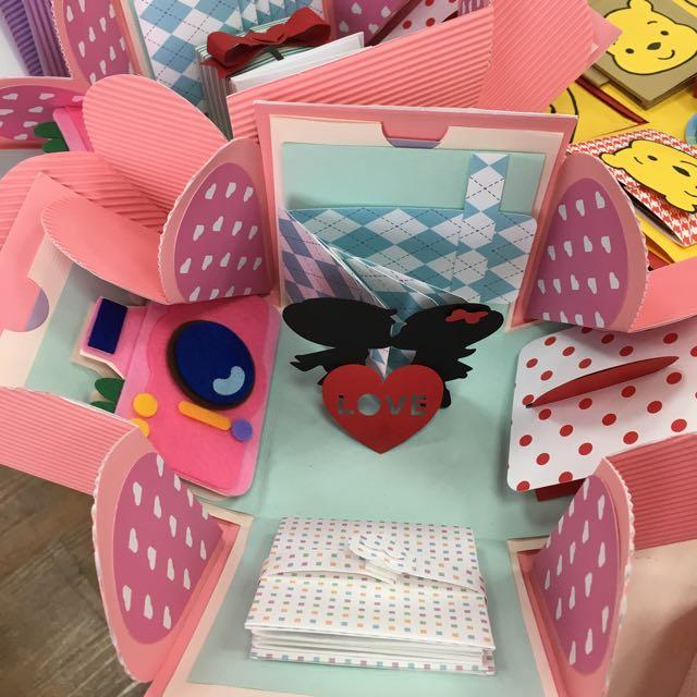 手工禮物盒
