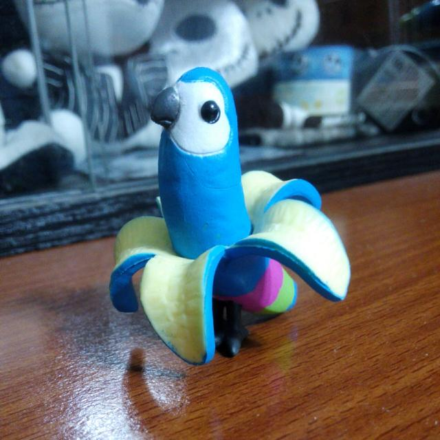 香蕉鸚鵡扭蛋/轉蛋
