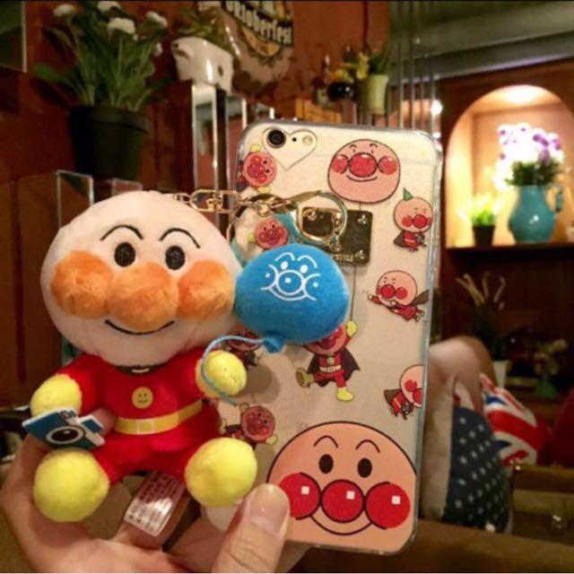 390免運🌹麵包超人鑰匙圈小玩偶手機殼