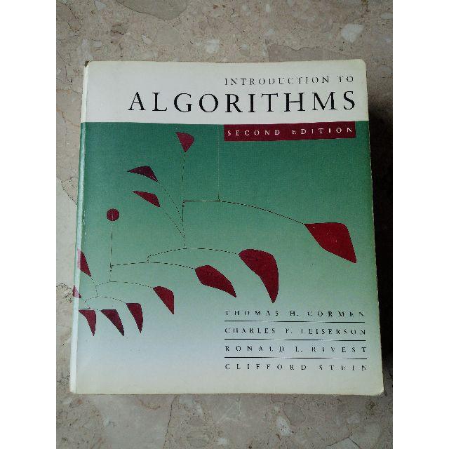 < Introduction to Algorithms, Second Edition 2/e > Cormen, Thomas H./ Leiserson, Charles E. 演算法導論 第二版 The MIT Press ISBN : 0262531968, 9780262531962