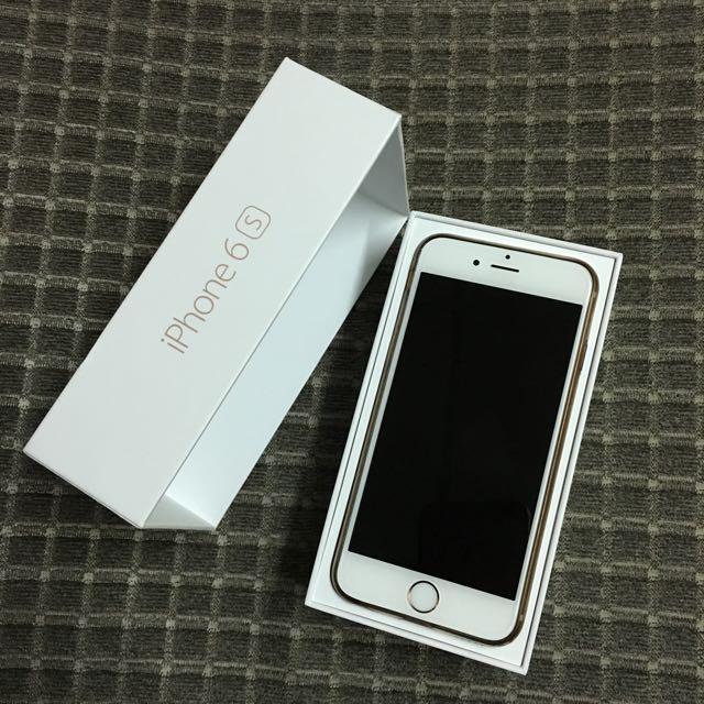 玫瑰金 Iphone6s 16g