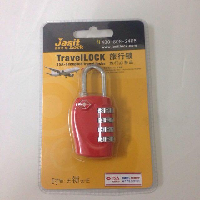 美國海關認可 TSA行李箱鎖