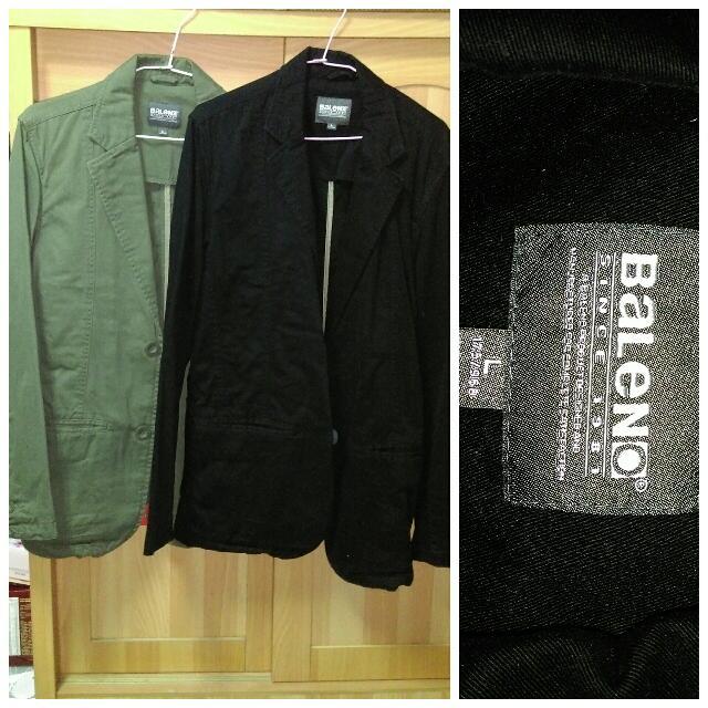 (兩件和購690)Baleno西裝外套 班尼路西裝外套