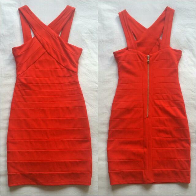 Bardot Bandage Dress