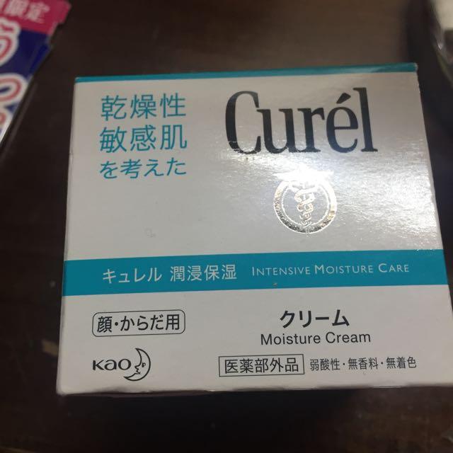 全新日本帶回Curel 珂潤 潤浸保濕乳霜90G(臉部身體皆可擦)