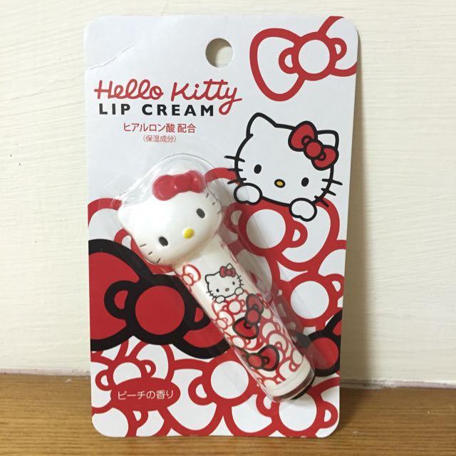 日本KITTY大頭護唇膏