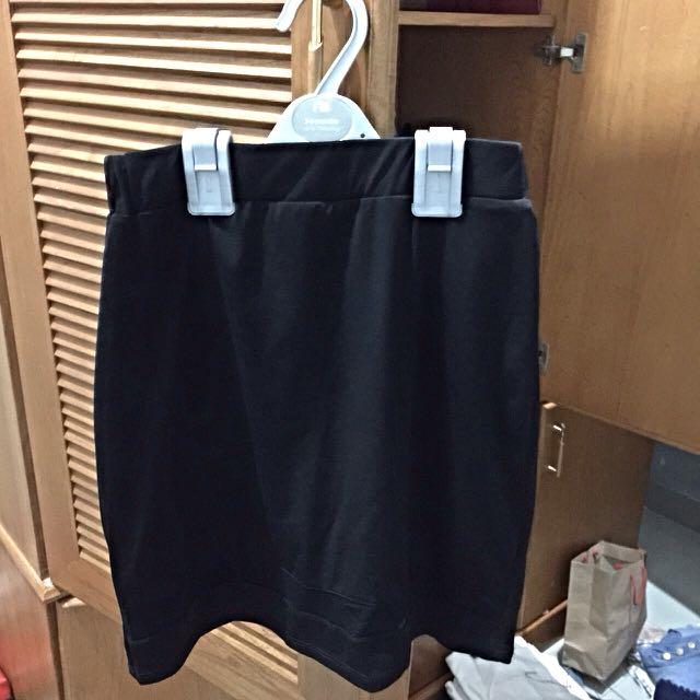 mesh bodycon skirt by clothinc