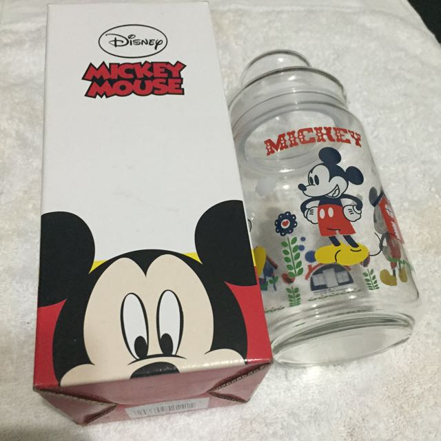 Mickey Mouse 玻璃罐