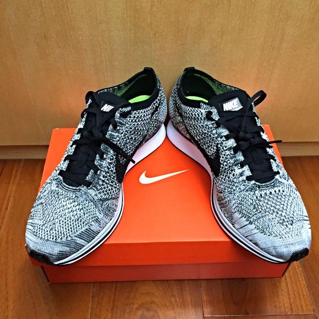 Nike Flyknit Racer 雪花