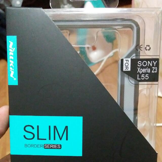 Nillkin Slim Border Case For Sony Xperia Z3