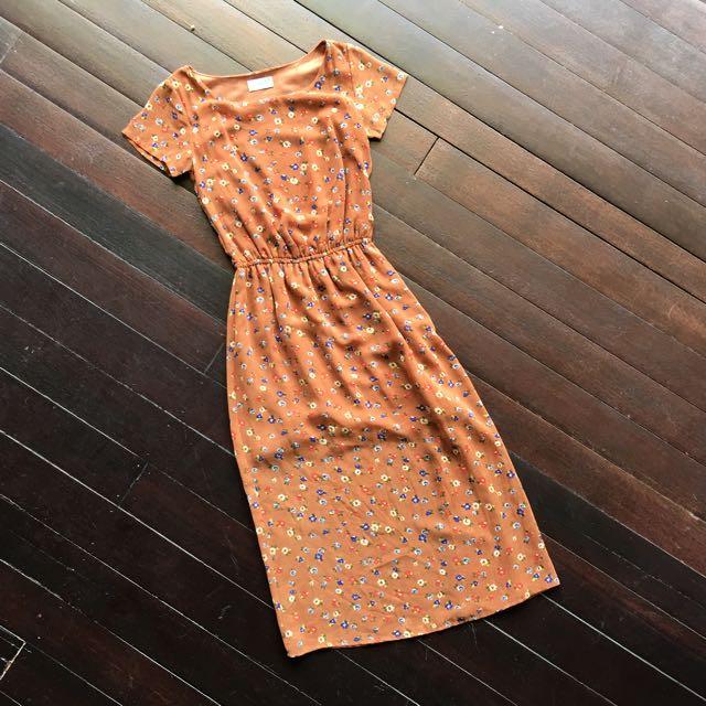 PDI Floral Maxi Dress