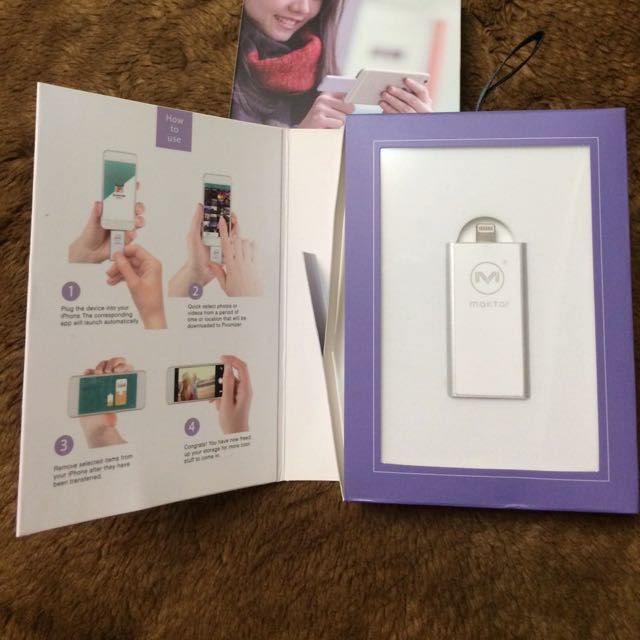 (全新)Piconizer 64g iPhone口袋隨身碟