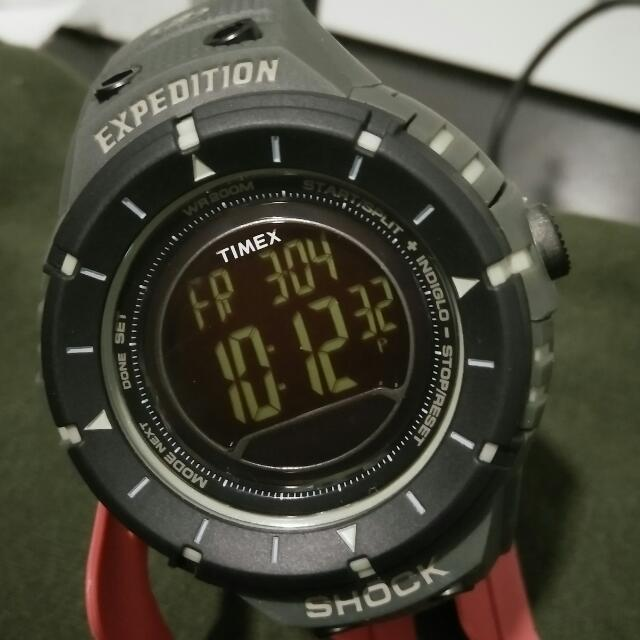 e6cdc9427 TIMEX MEN'S T49612 EXPEDITION TRAIL SERIES SHOCK DIGITAL COMPASS ...
