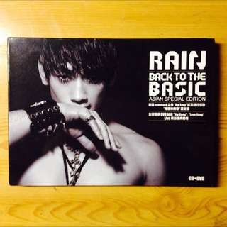 Rain--back To The Music亞洲特別版