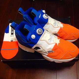 正品現貨 SNS x Packer x Reebok Pump Fury NYC 白藍橘配色 大特價