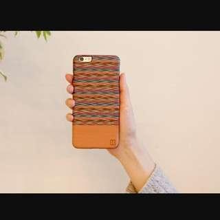 🎉降🎉[韓國man&wood] 100%木質環保手機殼 Iphone6 plus