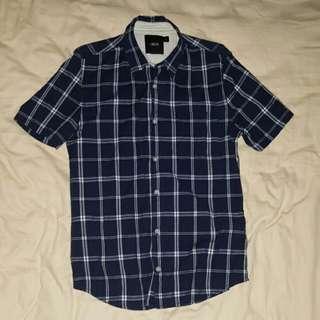 ASOS Checkered Short-sleeved Shirt