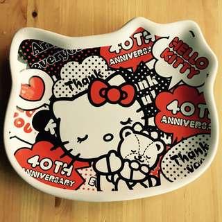 ✭小泡阿木✭7-11 Hello Kitty 經典造型瓷盤