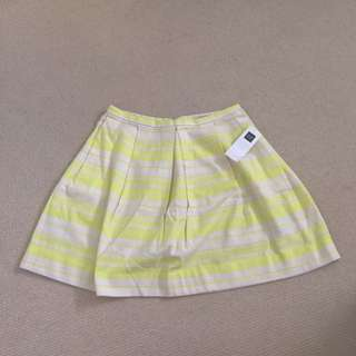 GAP Neon Stripes Skirt