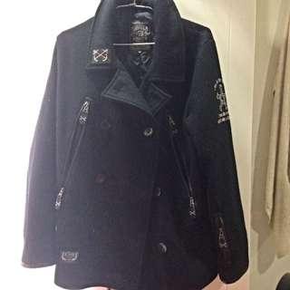 B-side 排釦軍外套