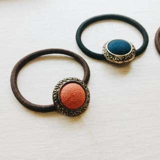 古典復刻handmade典雅髮圈手環