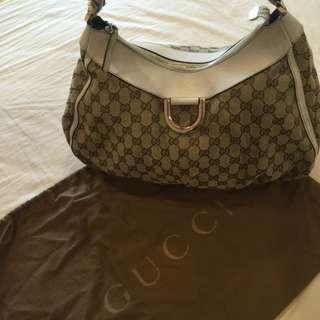Gucci Shopping Tote Handbag ( Pre owned)