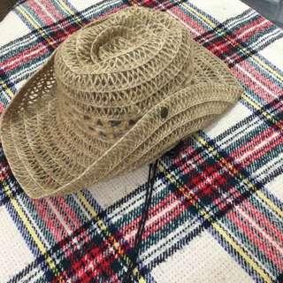 vinatage 竹藤帽