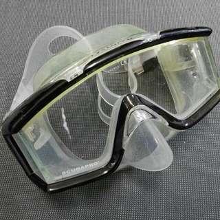 潛水Diving Gear清倉: SCUBAPRO浮潛mask (9成新)