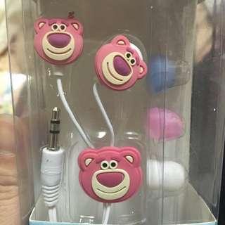 (現貨耳機) 辛普森 史迪奇 熊抱哥 超人 小小兵 入耳式耳機 造型耳機