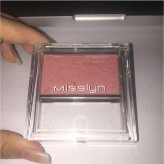 Misslyn Compact Blusher (dapet brush blush)