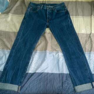 全新 Levi's 美國製 501赤耳 牛仔褲 W32 L34
