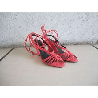 Charles and Keith Coral Wedges