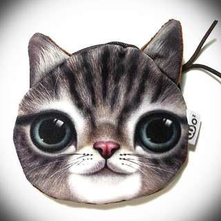 Smiling Cat Coin Purse