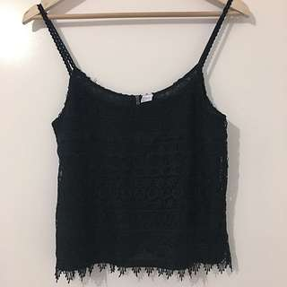 H&M Lace Cami Top