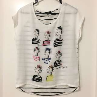 ETAM Short Sleeve Top