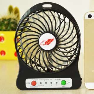 Portable Fan USBable/chargeable/necessary for summer!!!