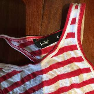 Sportsgirl Striped Top