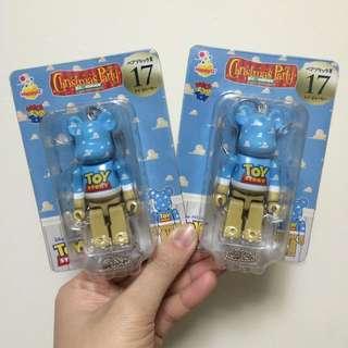 Bearbrick玩具總動員 Toy Story Logo熊