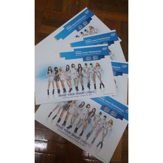 [LIMITED/RARE]Girls' Generation Intel Pamphlets