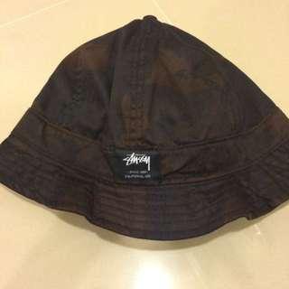 Stussy 復古 漁夫帽