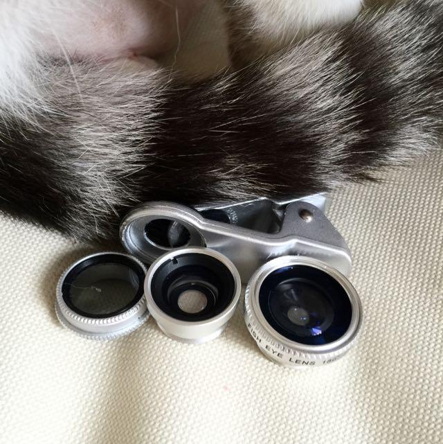 手機鏡頭(魚眼*微距*廣角)