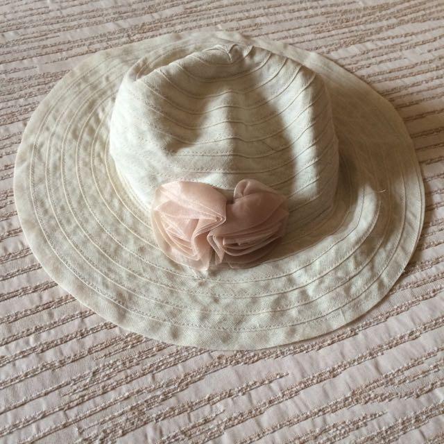 代售:玫瑰遮陽帽