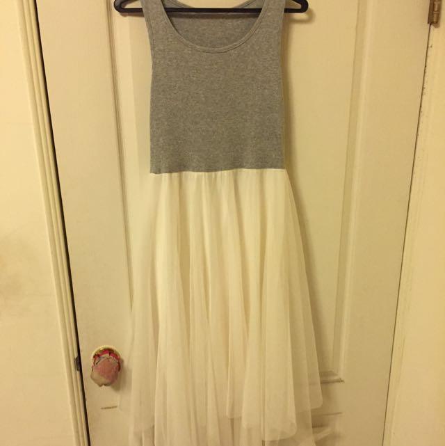 質感一件式紗裙
