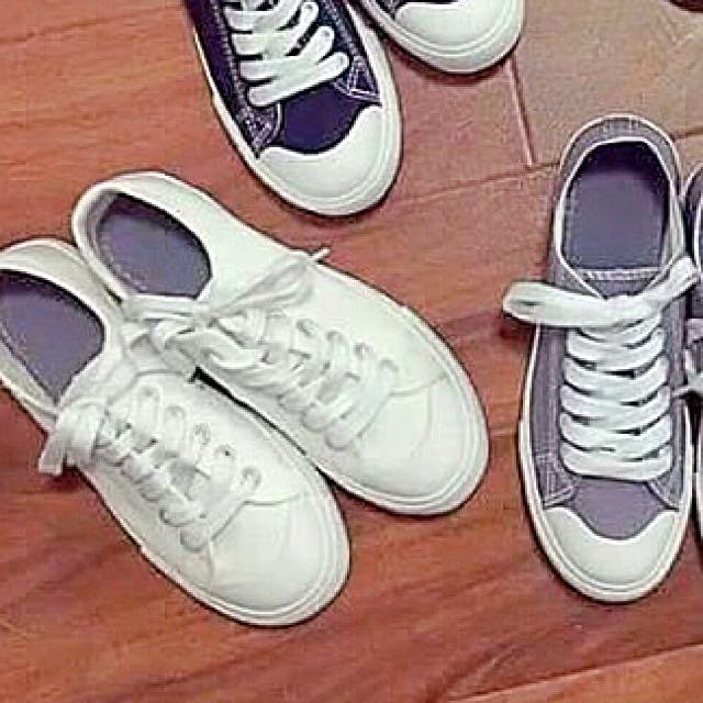 無印風小白鞋(免運)