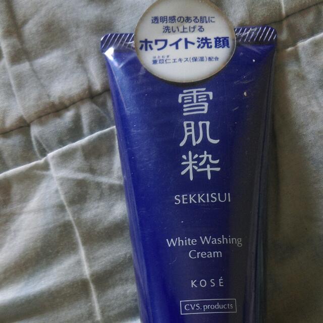 日本帶回  全新雪肌粹洗面乳