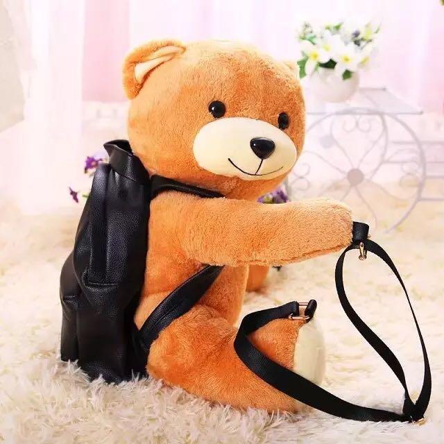 🉐🉐🉐免運費🉐🉐🉐✨全新美品✨熊熊背包 真的可以裝東西喲!現貨