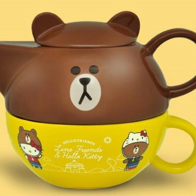 熊大 下午茶組