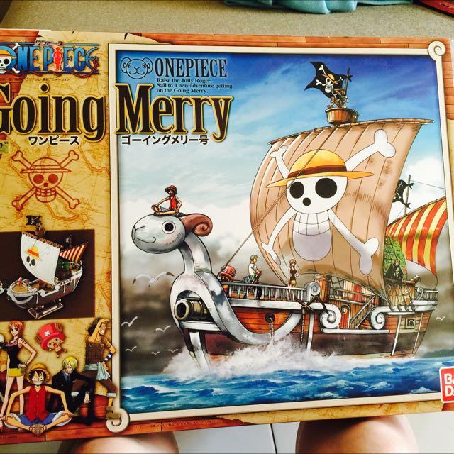 現貨-日本購入 海賊王 黃金梅莉號